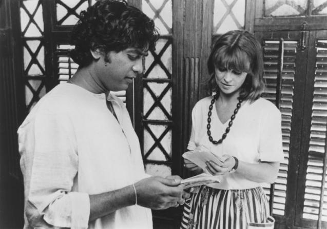 Zakir Hussain, Julie Christie