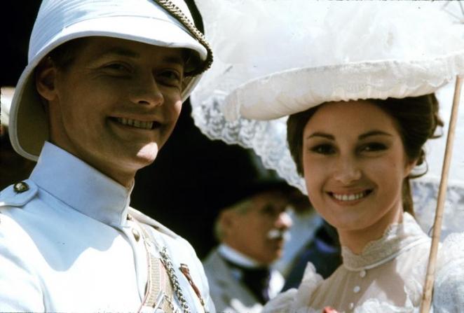 Simon Ward, Jane Seymour