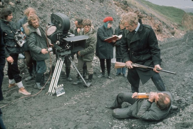 Mike Hodges, Michael Caine, Ian Hendry