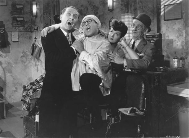Harold Lloyd, Jimmy Conlin, Arline Judge