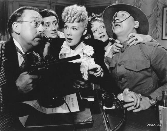 Betty Hutton, Eddie Bracken, Porter Hall