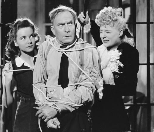 Betty Hutton, Diana Lynn, William Demarest