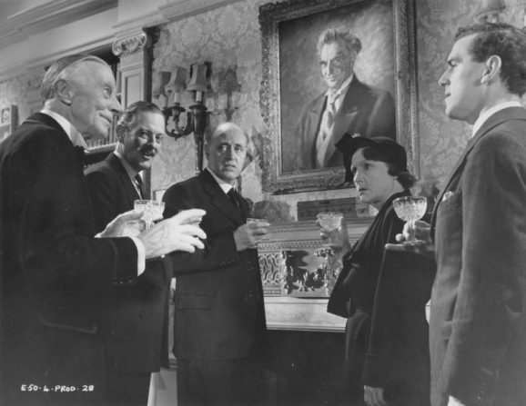 Alastair Sim, George Cole, Guy Middleton, Fay Compton, Ernest Thesiger