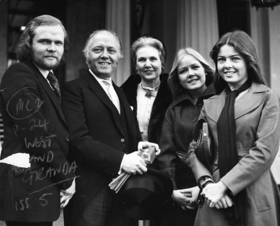 Richard Attenborough, Sheila Sim, Michael Attenborough, Charlotte Attenborough