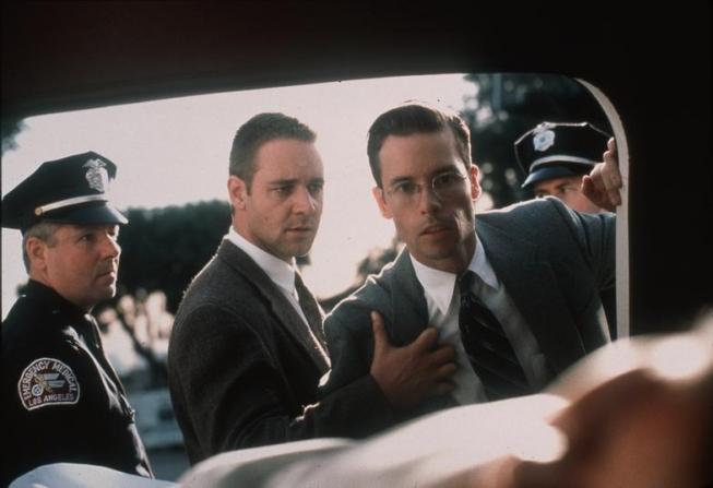 Guy Pearce, Russell Crowe