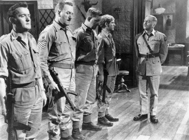 Richard Attenborough, Graham Stark, David Lodge, John Meillon, John Leyton