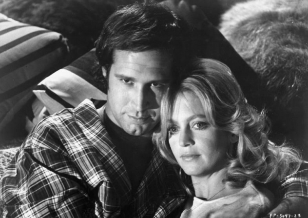 Chevy Chase, Goldie Hawn