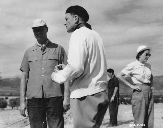 Laurence Olivier, Anthony Bushell