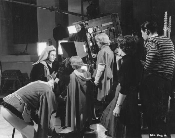 Laurence Olivier, Paul Huson, Andy Shine