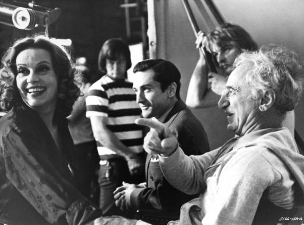 Robert De Niro, Elia Kazan, Jeanne Moreau
