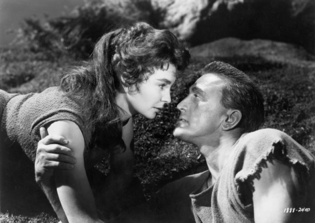 Kirk Douglas, Jean Simmons