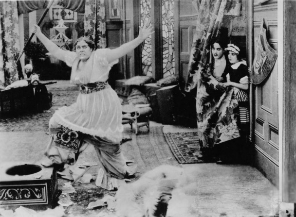Charles Chaplin, Marie Dressler, Mabel Normand