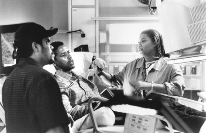 Denzel Washington, Luis Guzmán, Queen Latifah