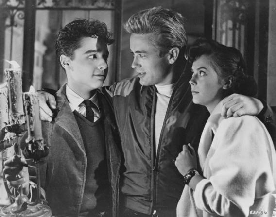James Dean, Natalie Wood, Sal Mineo