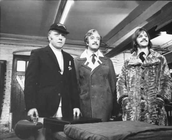 Richard Attenborough, Peter Sellers, Ringo Starr