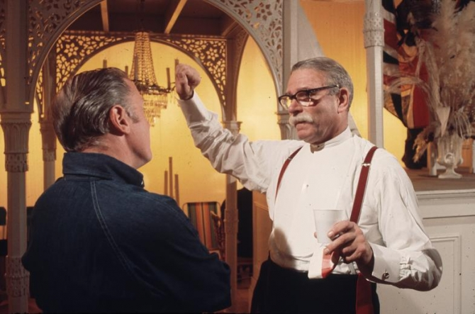 Richard Attenborough, Laurence Olivier