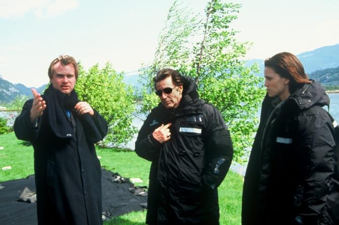 Al Pacino, Christopher Nolan, Hilary Swank