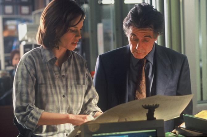 Al Pacino, Hilary Swank