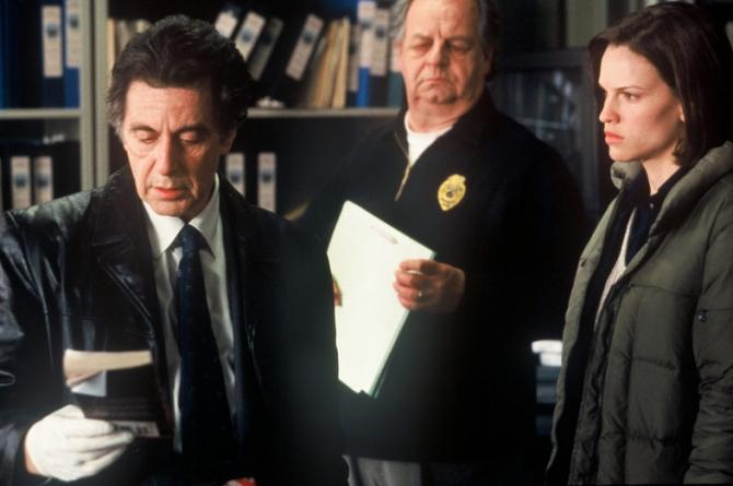Al Pacino, Hilary Swank, Paul Dooley
