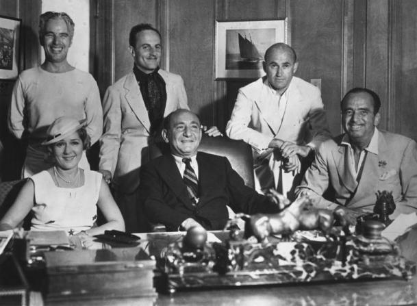United Artists, Mary Pickford, Joseph M. Schenck, Douglas Fairbanks Sr, Charles Chaplin, Darryl F. Zanuck, Samuel Goldwyn