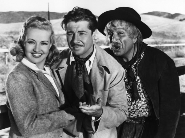 Betty Grable, Don Ameche, J. Carrol Naish