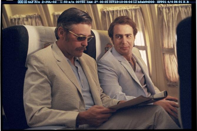 Sam Rockwell, George Clooney