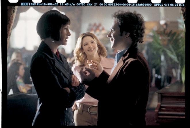 Sam Rockwell, Julia Roberts, Drew Barrymore