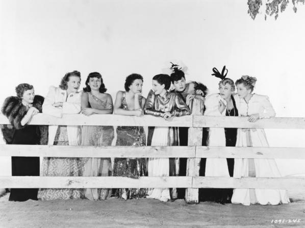 Joan Crawford, Norma Shearer, Rosalind Russell