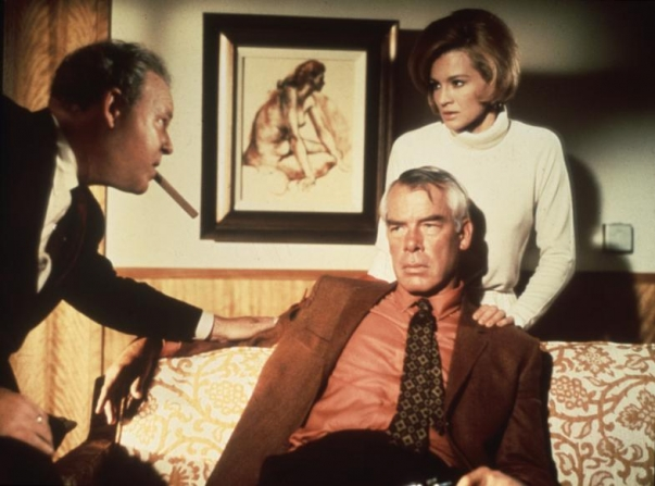 Lee Marvin, Angie Dickinson