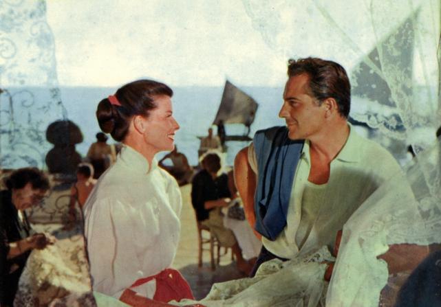 Katharine Hepburn, Rossano Brazzi