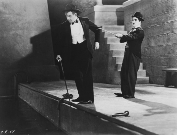 Charles Chaplin, Harry Myers