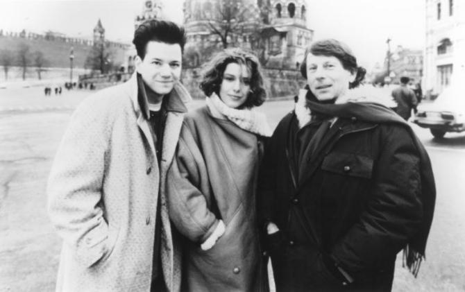 Roman Polanski, Frank Whaley, Natalya Negoda