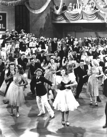 Mickey Rooney, Judy Garland