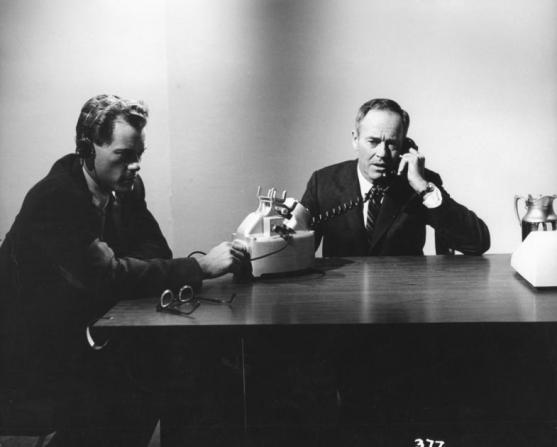 Larry Hagman, Henry Fonda