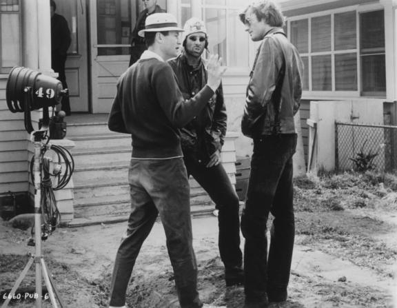 Peter Fonda, Roger Corman, Bruce Dern