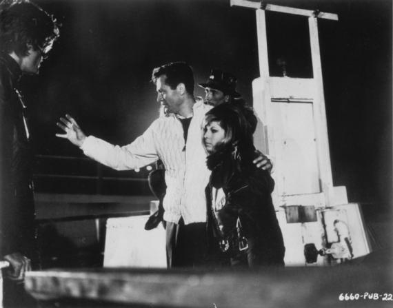 Peter Fonda, Roger Corman, Nancy Sinatra