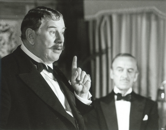 Peter Ustinov, David Niven