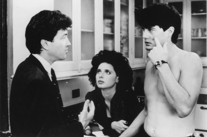 David Lynch, Kyle MacLachlan, Isabella Rossellini