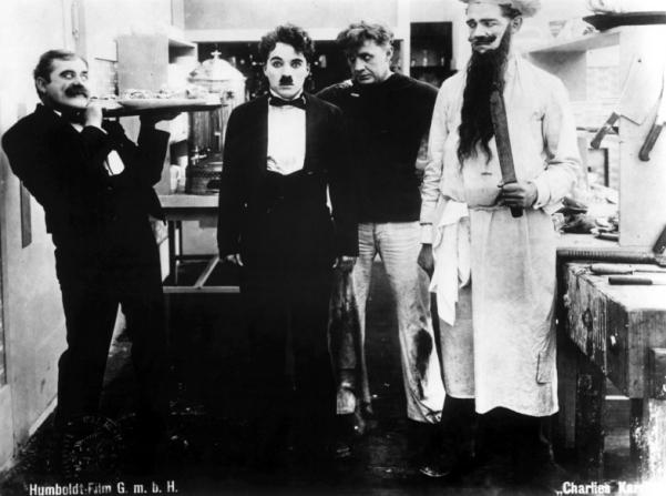 Charles Chaplin, John Rand, Lloyd Bacon, Albert Austin
