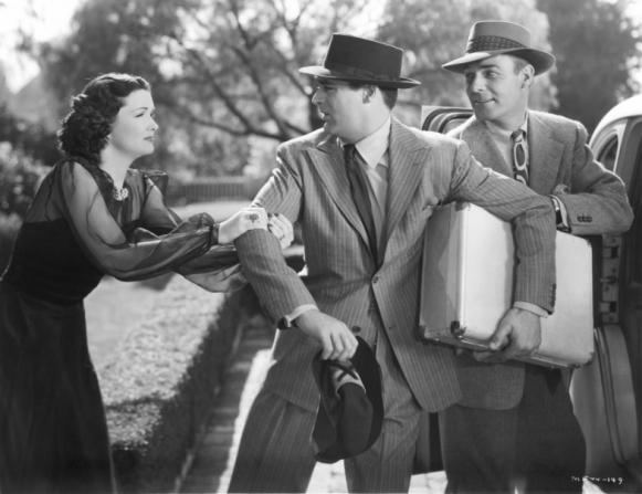 Gail Patrick, Cary Grant, Randolph Scott