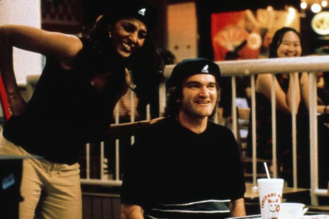 Pam Grier, Quentin Tarantino