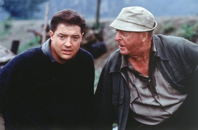 Michael Caine, Brendan Fraser