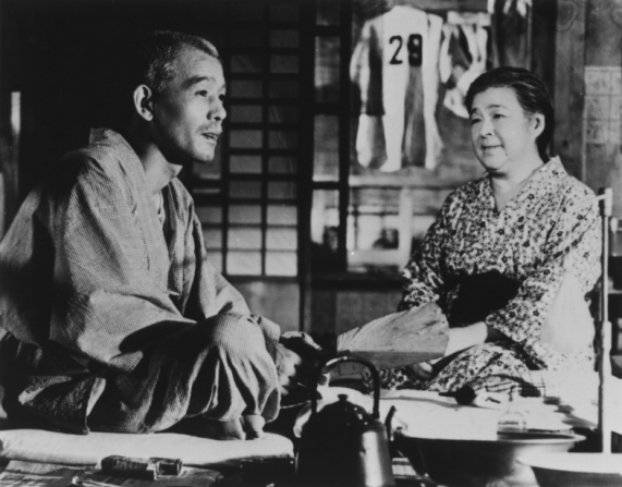 Chishu Ryu, Chieko Higashiyama
