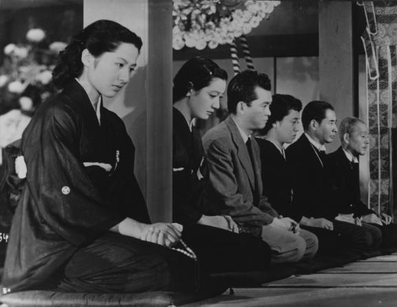 Setsuko Hara, Chishu Ryu, Shirô Osaki, Kyôko Kagawa, Sô Yamamura, Haruko Sugimura