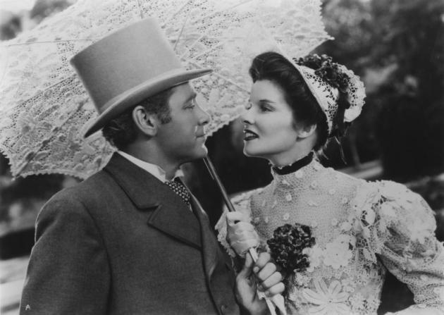 Herbert Marshall, Katharine Hepburn