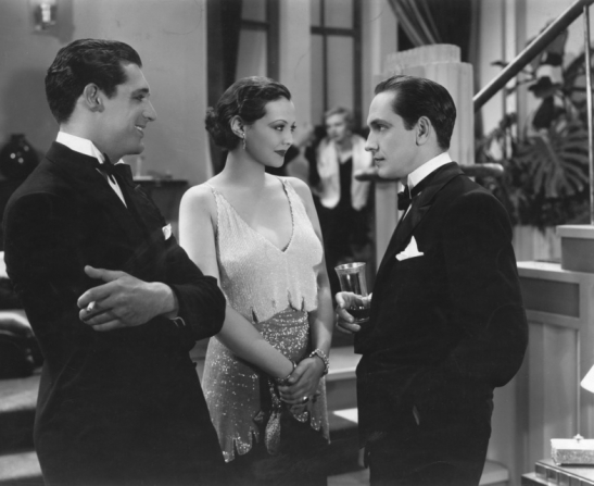 Sylvia Sidney, Fredric March, Cary Grant