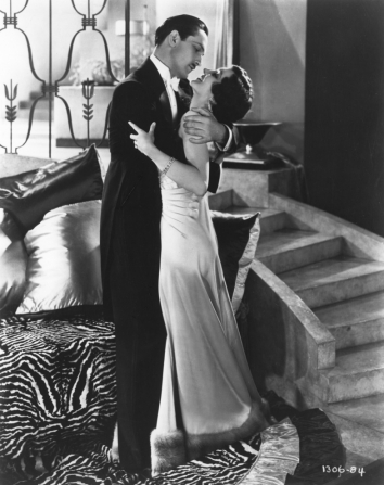 Fredric March, Claudette Colbert