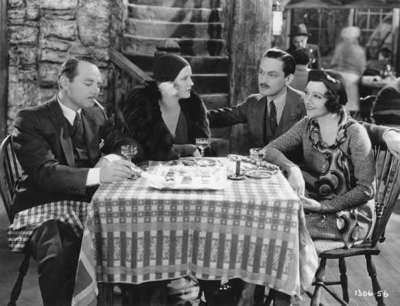 Charles Ruggles, Avonne Taylor, Fredric March, Claudette Colbert