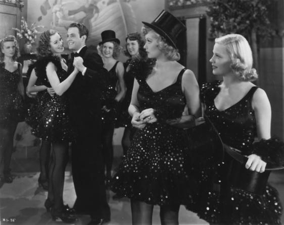Maureen O'Hara, Louis Hayward, Mario N. Navarro, Lucille Ball, James Stewart