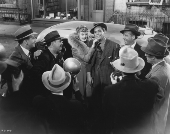 Lucille Ball, Louis Hayward, James Stewart